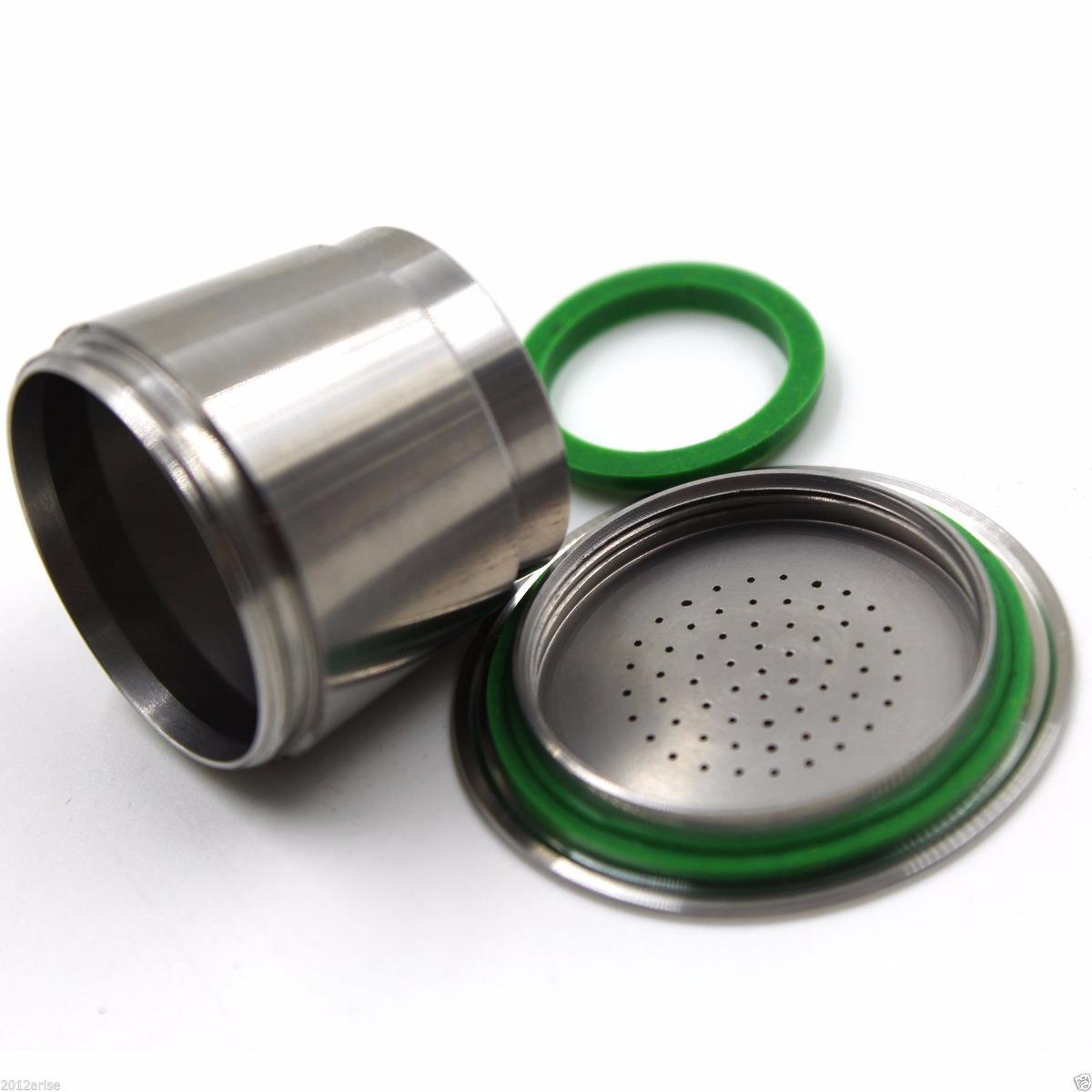 Capsulas nespresso reutilizaveis inox