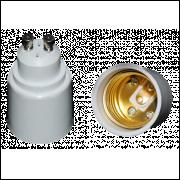 Soquete Adaptador Gu10 Para Soquete E27 2 Unidades