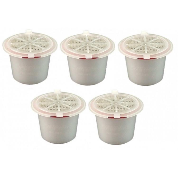 Cápsulas Nespresso 5 Unidades Recarregáveis