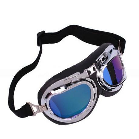 Óculos Clássico para Motociclismo Espelhado