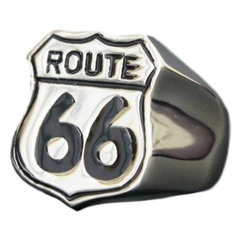 Anel Route 66 Aço Inox