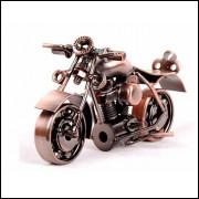 Miniatura Moto em Metal