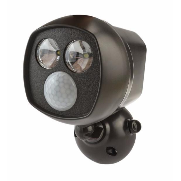 Luminária Spotlight 2 Leds com Sensor de Movimento