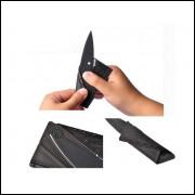 Canivete Faca Cartão de Crédito Sinclair Cardsharp