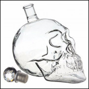 Garrafa Caveira em Cristal 350 ml