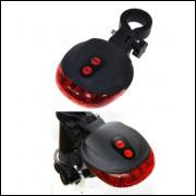 Sinalizador Lanterna Laser para Bicicleta