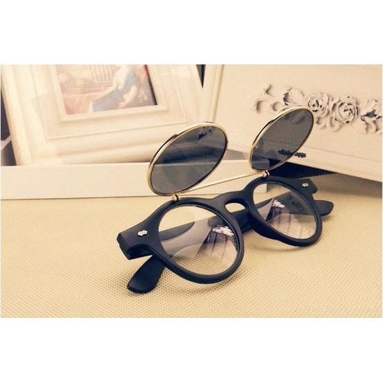 Óculos Basculantes Redondos Vintage