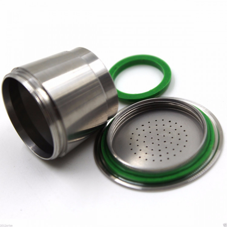 Cápsula Nespresso Inox Reutilizável Recarregável