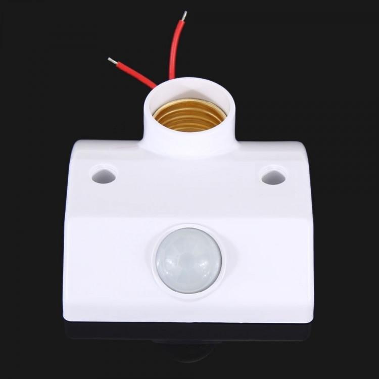 Soquete Bivolt E27 Sensor de Proximidade PIR