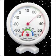 Termômetro Higrômetro Analógico