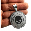 Medalhão Harley Davidson Inox