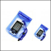 Bolsa a Prova D-água 12 X 17 cm para Celular, Iphone, Mp3 Mp4