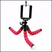 Tripé Flexível Para Smart Phone e Câmera Pequena