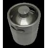 Barril Growler Aço Inox 2 litros